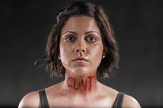 These shocking and powerful images by photographer Rich Johnson help to illustrate the damage inflicted by words. http://petapixel.com/2014/05/16/powerful-photos-illustrate-real-damage-done-verbal-abuse/