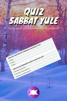 Você é uma Bruxa Invernal? Teste seus conhecimentos sobre o Sabbat Yule com estas 10 perguntas congelantes! #Bruxaria #Magia #Wicca Beltane, Samhain, Yule, O Ritual, Sabbats, Cover, Books, Movie Posters, Crafts