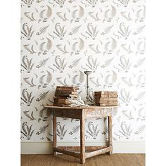 Buy GP & J Baker Ferns Paste the Wall Wallpaper Online at johnlewis.com
