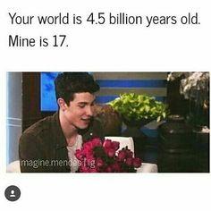 he's my world 💛❤❤❤❤