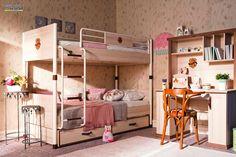 Łóżko piętrowe z dostawką oferuje wiele możliwości  W ramach kolekcji Royal mamy do dyspozycji szereg nietypowych elementów do wyposażenia pokoju dziecięcego dziewcząt lub pokoju dziecięcego dla chłopców. Meble o wysokiej jakości wykonania i eleganckim wyglądzie. Kolecja bardzo obszerna, a dzięki aktualnie przedstawianemu łóżku piętrowemu pozwala również na aranżacje pokojów dziecięcych dla dwójki, a nawet trójki dzieci. Szuflada pod łóżko może być wykorzystana jako dodatkowe miejsce do…