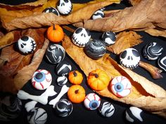 Polymer clay miniatures for Halloween