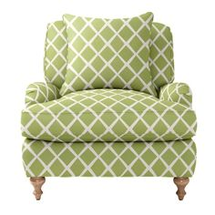 Custom Upholstered Miramar Chair in Designer Fabrics | Serena & Lily