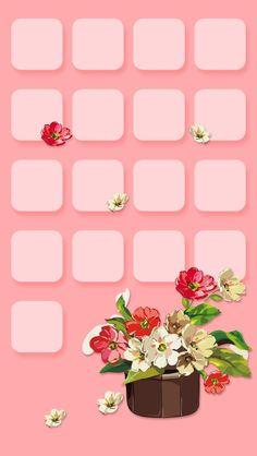 Pink Flower Bouquet iPhone Wallpaper Home Screen Pink Wallpaper Girly, Pink Wallpaper Iphone, Pink Iphone, Android Wallpaper Hd Black, Iphone Homescreen Wallpaper, Wallpaper Shelves, Ipad Background, Lock Screen Wallpaper, Cute Wallpapers