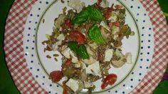 Italian and Vegetarian: Vegan oats salad