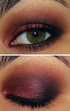 ... jpg more burgundy eye eyeshadow brown eye
