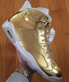f8766db66bc9 Jordan Brand gives the Air Jordan 6 the Pinnacle treatment this month. Are  you a fan of the all gold look  Tap the link in our bio images and release  ...