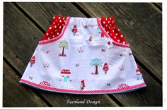 Red Riding Hood Skirt, krabbelkee collection by Feenland ; Rock Rotkäppchen von krabbelkee collection by Feenland auf DaWanda.com