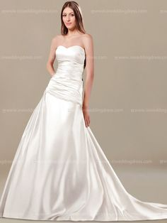 Strapless wedding dress is made for the bride wanting unique wedding gowns  with… Unusual Wedding 61c5ec75cc5