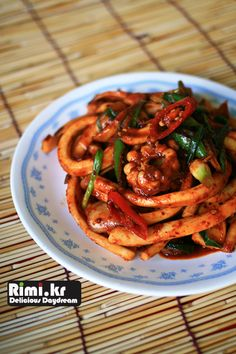 맛있는 요리 레시피 - 리미의 레시피 ::Rimi.kr:: - 오징어 야채볶음