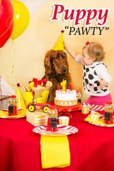 Throw a Puppy Birthday Pawty!