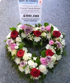 Bildergebnis für open loose funeral wreath yellow roses
