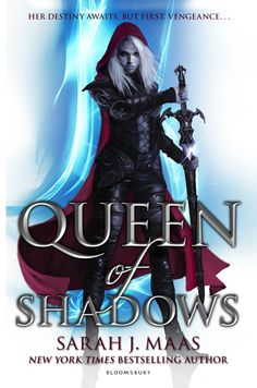 UK #CoverReveal  Queen of Shadows (Throne of Glass, #4) by Sarah J. Maas