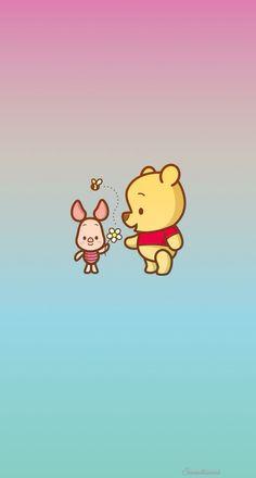 Imagem de wallpaper and winnie the pooh