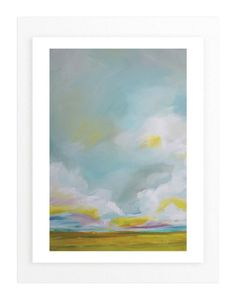 """""""Summering Forever"""" - Art Print by Emily Jeffords in beautiful frame options and…"""