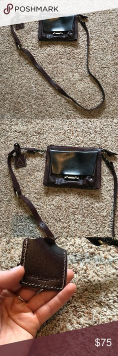 KELSI DAGGER PURSE Literally like new. No signs of wear. Great quality. More of a dark purple / brown color. Kelsi Dagger Bags Crossbody Bags