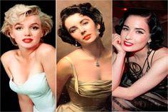 Moda Anos 50 - Décadas da Moda                                                                                                                                                                                 Mais