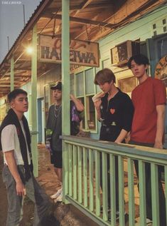 D.O, Xiumin, Suho, Sehun - 190911 Fourth official photobook 'PRESENT ; the moment' Credit: luvfor_m.