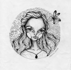 """Fantasy Character"" #illustration By Ludovica Sodano."