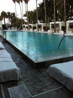 Delano Miami one of my favorite hotels...clean lines...set the standard for contemporary design in Miami...long ago.  Still a favorite.