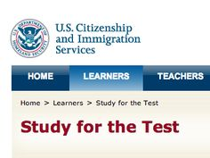 Study for the Test | USCIS