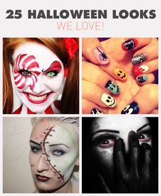 All season long, you created amazing Halloween looks. Here are 25 of our favorites of the year, straight from the Beautylish community. Halloween Looks, Halloween Cosplay, Holidays Halloween, Halloween Nails, Halloween Themes, Halloween Crafts, Happy Halloween, Halloween Decorations, Halloween Party