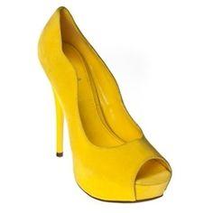 color pop peep toe platform