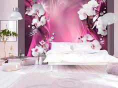 Photo Wallpaper Wall Murals Non Woven 3D Modern Art Floral