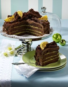 Unser beliebtes Rezept für Orangen-Schokoladen-Torte und mehr als 55.000 weitere kostenlose Rezepte auf LECKER.de.