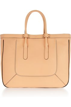 CHLOÉ  T leather tote