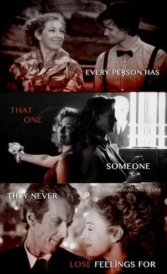 River Song and the Doctor by Puffu316.deviantart.com on @DeviantArt