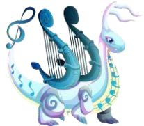 Music Dragon-----Dragon CIty Dragon City, Anubis, Dragon Games, Fantasy Drawings, Nanami, Draco, Musical, Monster High, Amazing Art