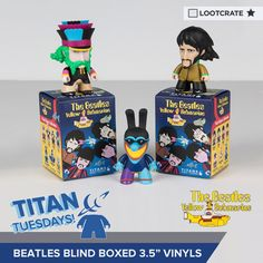 I'm entered to win #Beatles Vinyl Blind Boxes from Titan Merchandise & @lootcrate! #TitanTuesdays