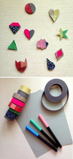 DIY Magnets | Creative Ways to Personalize with Washi Tape