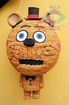 Piñata Five nights at freddy's... también contamos con todo para tu fiesta con el tema de este Juego. #CualquierDiseño
