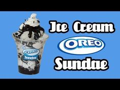 Oreo Ice Cream Sundae - Baskin Robbins - Miniature Clay Tutorial