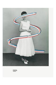 foodaestheticsmovement:  1 image d'un agent de la Nasa + 1 œuf1 image de Mme Saharoff + sauce Potatoes®1 image du film Un Américain à Paris ...