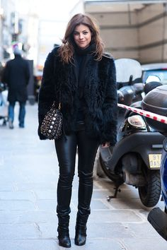 Julia Restoin- Roitfeld can't do no wrong
