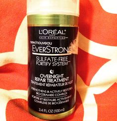 A review on one of my favorite hair products! https://ashleynicolefashion.wordpress.com/2016/01/08/review-loreal-overnight-repair-treatment/