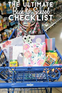 Getting ready for a new school year can be overwhelming. Use this ultimate back to school checklist for busy moms to start the year right. New School Year, First Day Of School, Craft Activities For Kids, Crafts For Kids, Back To School Checklist, When School Starts, After School Routine, Kids Schedule, School Calendar