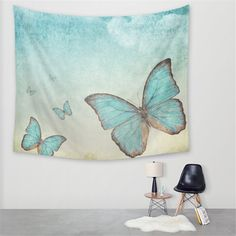 This is a beautiful Butterfly Tapestry. This Tapestry is an awesome centerpiece for any space, you can use it as a tablecloth or picnic blanket as well! Bohemian Tapestry, Mandala Tapestry, Beautiful Butterflies, Textile Art, Psychedelic, Picnic Blanket, Wall Decor, Butterfly, Flooring