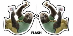 Flash ZOOTOPIA Character Ornaments