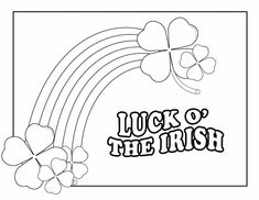12 printable st patricks day coloring pages for kids st pattys fun