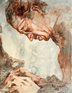 Keith Jarrett by PGR Fleming Arts. 1998