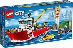 LEGO City Fire, Brandbåt