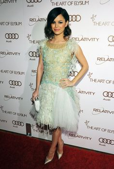 Rachel Bilson at The Art of Elysium Gala Jan 14 2012