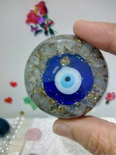 Orgonite energia proteção olho grego