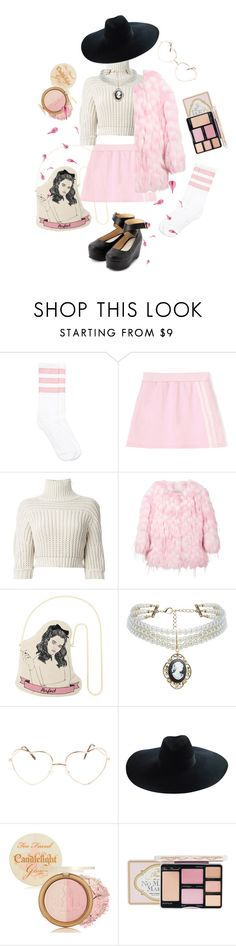 """""""PRIMA"""" by petitepasserine ❤ liked on Polyvore featuring Brunello Cucinelli, Chloé, ASOS, Yves Saint Laurent and Too Faced Cosmetics"""