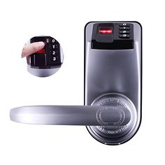 Don't worry about your children losing or forgetting their keys. With the Adel 3398 each member of your family can have their own fingerprint or PIN code. If guests or relatives are visiting program...