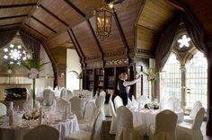 Ettington Park Hotel, Warwickshire. There is something about Ettington Park that says romance. It could be the beautiful views, the elegant architecture or perhaps simply the passionate, caring way we look after you!  At Ettington you can hold your wedding in one of our elegant rooms - licensed for Civil Ceremonies and Partnerships - before having your marriage blessed in our private chapel. For the ultimate in exclusivity, take over the whole house: our rooms and restaurant, grounds and…